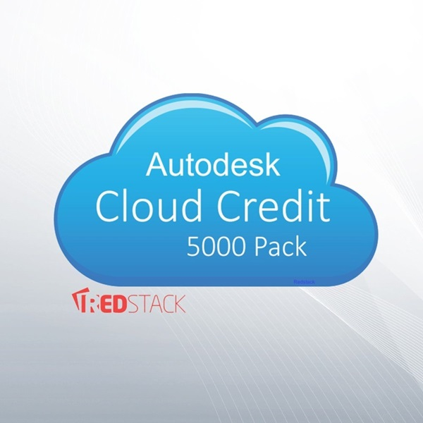 Picture of Autodesk Cloud Credits - 5000 Pack